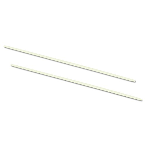 ACCO 50104 Data Flex 8-1/2 Nylon Posts for top/Bottom Loading Binders, 6 Cap, 20/Pack
