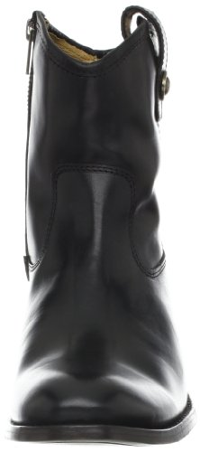 Women's Button Soft FRYE Melissa Leather Black Ankle Short 77897 Vintage Boot fd70E0wq4