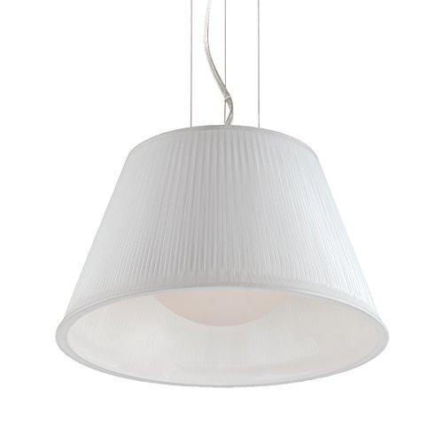 (Eurofase 23067-042 Ribo 1-Light Small Pendant, Chrome)