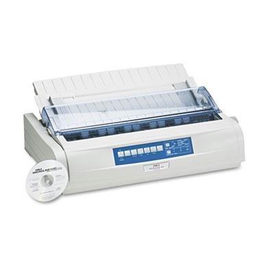 Oki Microline 491 24-Pin Impact Printer- OKI62419001