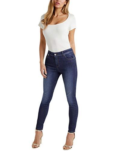 Figura Lipsy Mujer Realzan Tu Que Azul Kim Largo Estándar Vaqueros RxxPqXpw4