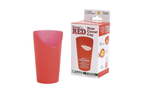 Nose Cup - Essential Medical Supply Power of Red Nose Cut Out Cup for Alzheimers and Dementia