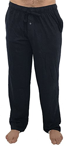 (At The Buzzer 14500-Navy-L Men's Pajama Pants/Sleepwear/PJs)