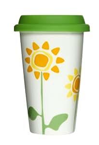 Sagaform - Taza termo (porcelana), diseño de flores