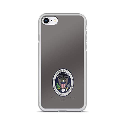 iPhone 7 Case iPhone 8 Case Clear Anti-Scratch Josiah Bartlet Presidential Library Logo, west Wing Cover Phone Cases for iPhone 7/iPhone 8, Crystal Clear