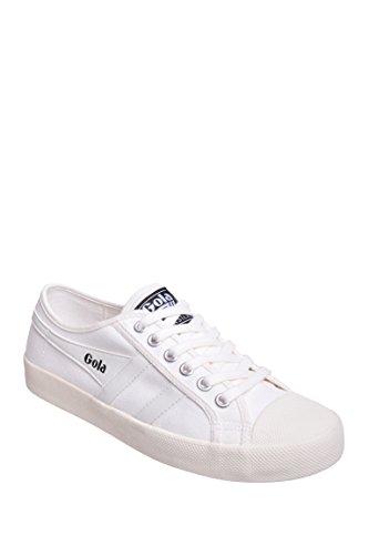 Lady Coaster (Gola Women's Coaster Fashion Sneaker, Off White/Off White, 7 M US)
