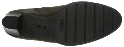 Gabor Gabor - Botines tacón, color: gris - Taupe (anthrazit)