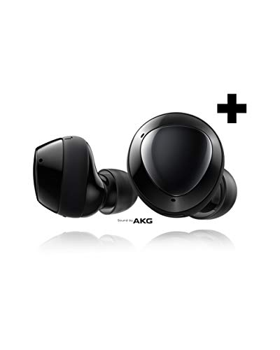 Samsung Galaxy Buds+ Plus, True Wireless Earbuds (Wireless Charging Case Included), Black – US Version