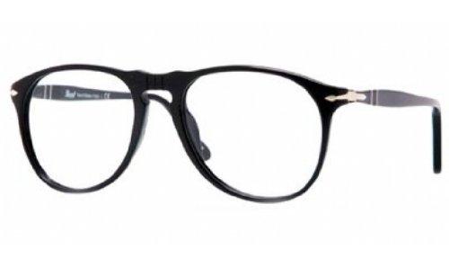 Persol Mens Eyewear Frames PO 9649V 52mm Black 95 (Model Persol)