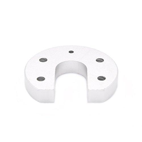 3DTOP Aluminum Circular Sandblasting Kossel