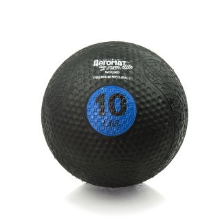 Aeromat Extreme Elite Medicine Ball 10LB, Blue by ECO-WISE