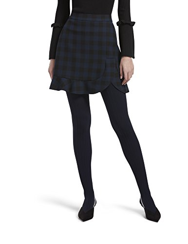 HUE Womens Micro Cable Tights with Control Top