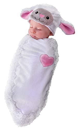 (Princess Paradise Baby Rylan The Lamb, White, One)