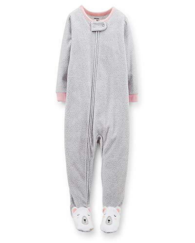 - Carter's Fleece Footie (Toddler/Kid) - Polar Bear-5T