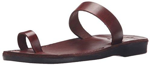 Jerusalem Sandal Slide Brown Sandals Eden Women's rwtrIR