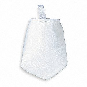 - Polyester Felt Filter Bag, 5 Micron, Singed for Strength, Trade Size #2, 7