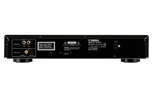 YAMAHA CD-S300RK Rack Mount Single Disc Cd Player. Features Stereo Unbalanced Analog Output Digit