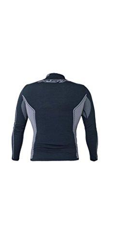 Camiseta Negro Tech Mc gris X De Coolmax 1pSx10r