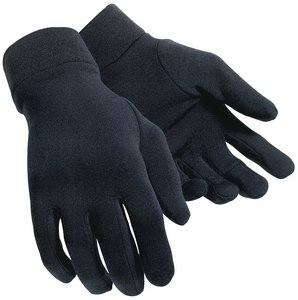Polar Fleece Glove Liners (Tour Master Polar Fleece Glove Liner - Large/X-Large/Black)