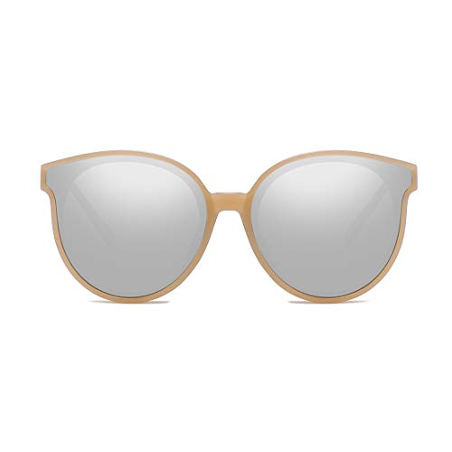 De Gold Gray De Frame Gafas Gafas Lens Sol Black Color Gafas De Lens Silver Retro Sol Trend Hombre Color Polarizadas LBY Sol de Sol De Frame Gafas Metal para w4gXqx55