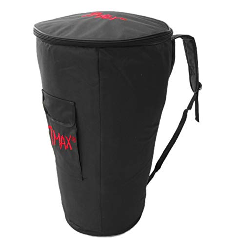 Baosity Portable 10/12inch African Hand Drum Gig Bag Djembe Carry Storage Bag Case - 12inch Black