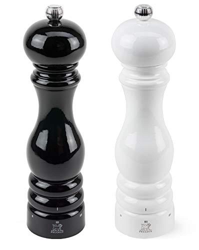 - Peugeot Paris U'Select Lacquer Salt And Pepper Mill Set 8 3/4