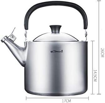 Hengtongtongxun Bouilloire 3.5L de haute qualité, bouilloire en acier inoxydable 304, meilleur cadeau (argent) kettle (Capacity : 3.5L)