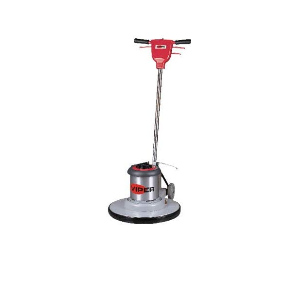 Viper Cleaning Equipment VN1715 Venom Series Low Speed Buffer, 17″ Deck Size, 175 RPM, 50′ Power Cable, 110V, 1.5 hp, 16″ Pad Driver