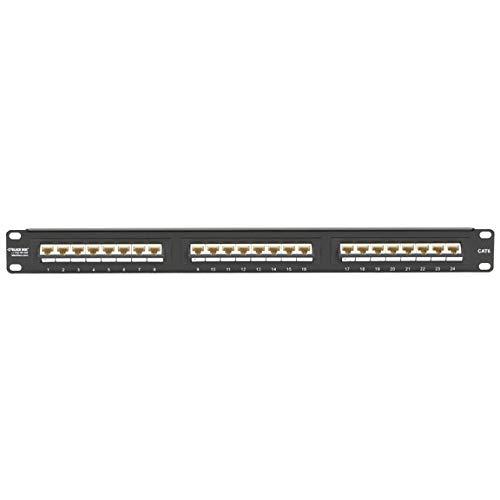 Pack of 2 pcs Black Box JPM624-45ANG-U SpaceGAIN CAT6 Patch Panels
