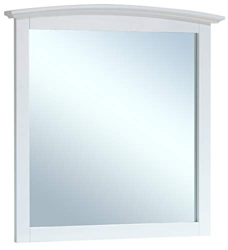 Glory Furniture G5490-M Arched Dresser Mirror, White ()