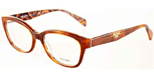 Prada PR20PV Eyeglasses-MAU/1O1 Top - Hexagon Frames Eyeglass