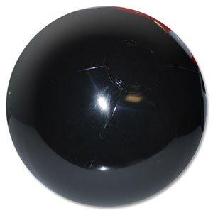 Beachballs - 16'' Solid Black Beach Ball ()