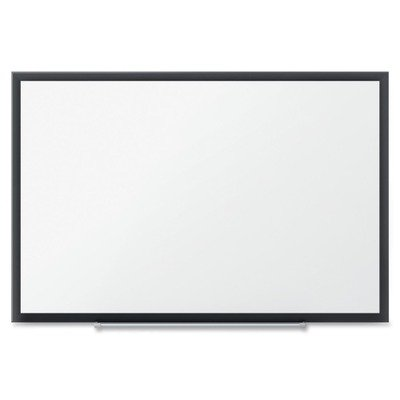 Quartet Dry Erase Board, Whiteboard / White Board, Magnetic, 6' x 4', Silver Aluminum Frame (SM537) by Quartet