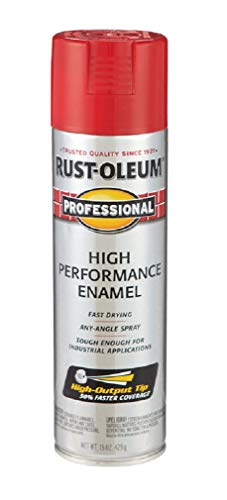 15oz. Safety Red Professional High Performance Enamel Spray [Set of - Performance Enamel High Professional