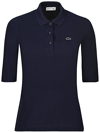 Polo Navy Blue Lacoste Donna 166 zwaWdqE
