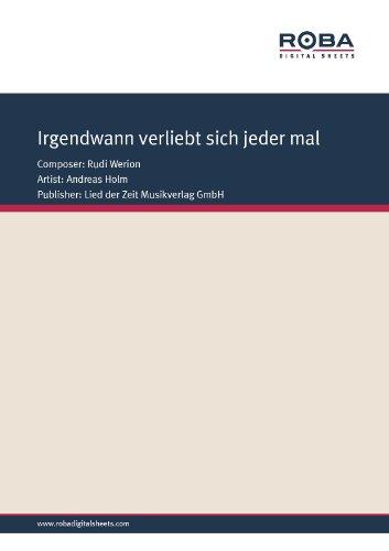 rgendwann verliebt sich jedermal (German Edition)