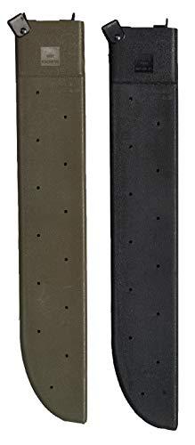 Gi Machete - Rothco G.I. Type Plastic Machete Sheath, Black