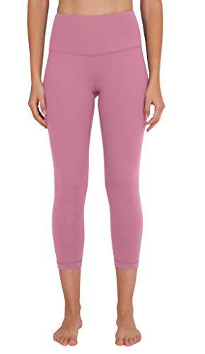 (90 Degree By Reflex - High Waist Tummy Control Shapewear - Power Flex Capri - Pink Ocean - Medium)