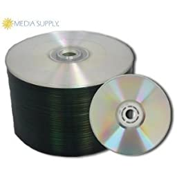 MAM-A 80m Silver Digital Audio Unbranded in Shrink Wrap - 100 Count