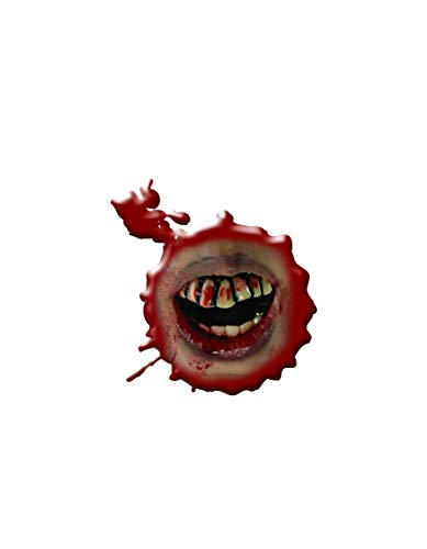 Inspired By The Walking Dead Bloody Teeth Adult Costume Accessory, Multi, One -