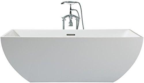ARIEL Platinum PS111-6730 Chelsea 67″x 30″ Inch Freestanding Acrylic Bathtub