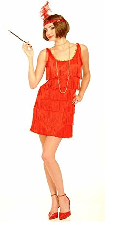 Forum Novelties Roaring 20's Flapper Dress and Headband,