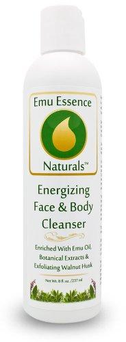 Emu Essence Energizing Face & Body Cleanser SLS Free with Emu Oil 8 (Energizing Essence)