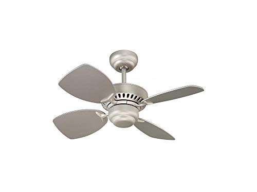 (Mоntе Cаrlо Home Decor 4CO28BP Colony II Ceiling Fan, 28