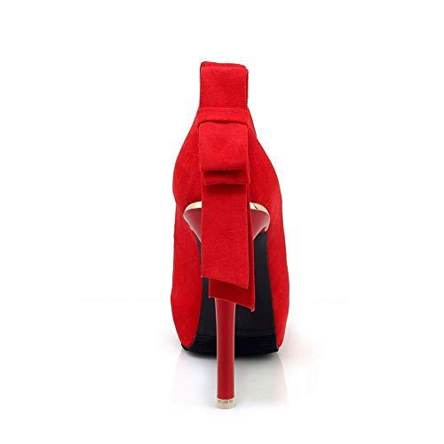 Rouge Plateforme 5 BalaMasa APL10802 36 Femme Red 61Hzqg