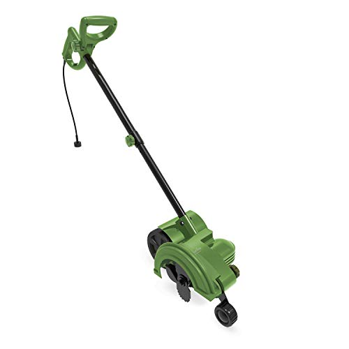 MARTHA STEWART MTS-EDG1 12-Amp 7.2-Inch 2-in-1 Electric Lawn and Landscape Edger/Trencher, Bay Leaf Green