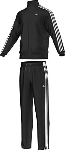 adidas Chándal ESS 3S Suit. Deporte y de Fitness Black/White ...