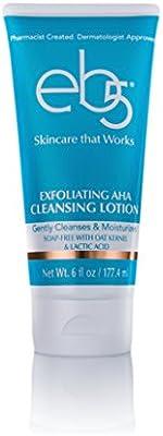 eb5 Exfoliating AHA Cleansing Lotion, Soap-free, Anti-Aging, Glowing Skin, 6 oz