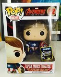 Unmasked Captain America Funko PoP! 2015 Convention Exclusiv