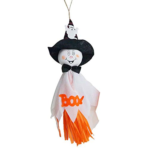 discountstore145 Halloween Hanging Decoration, DIY Horror Ghost Trick Hanging Pendant Props Party Supplies Halloween Eve Decor Home Indoor/Outdoor Decoration -